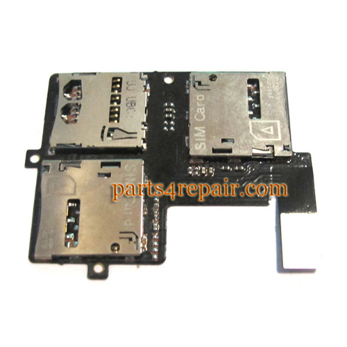 SIM Connector Board for HTC Desire 606W from www.parts4repair.com