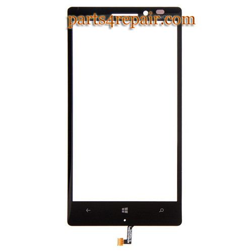 Front Glass with Sensor Flex Cable for Nokia Lumia 930 from www.parts4repair.com