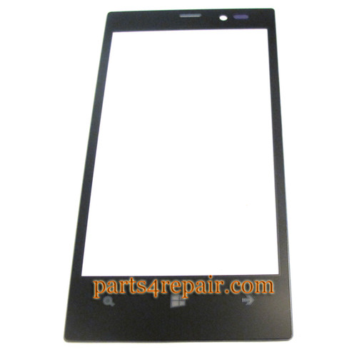 Front Glass OEM for Nokia Lumia 720 -Black