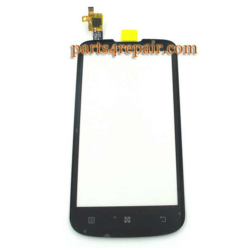 Touch Screen Digitizer for Lenovo A800 -Black from www.parts4repair.com
