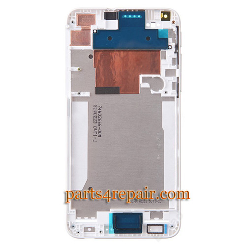 We can offer Front Housing Cover with Side Keys for HTC Desire 816 -White