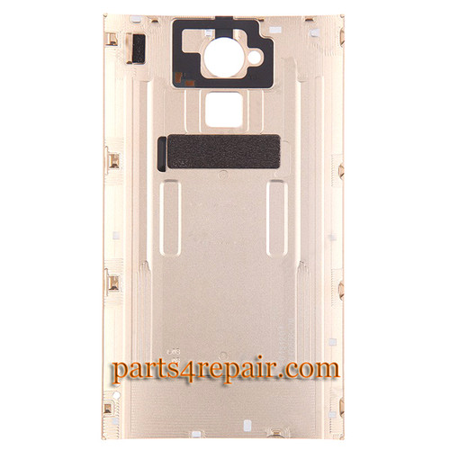 Back Cover for HTC One Max -Gold from www.parts4repair.com