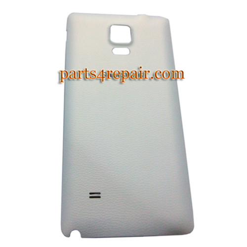 Back Cover for Samsung Galaxy Note 4 -White from www.parts4repair.com