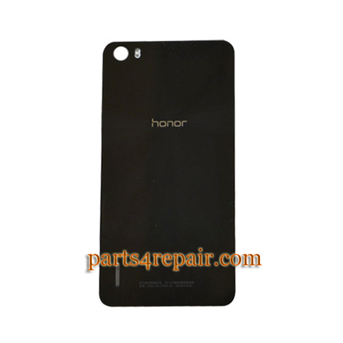 Back Cover for Huawei Honor 6 -Black from www.parts4repair.com