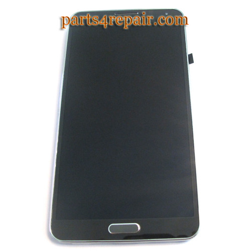 Complete Screen Assembly with Bezel for Samsung Galaxy Note 3 N9005 -Black