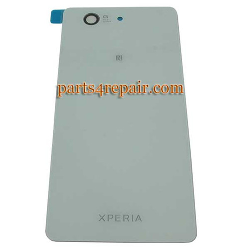 Back Cover OEM for Sony Xperia Z3 Compact mini -White