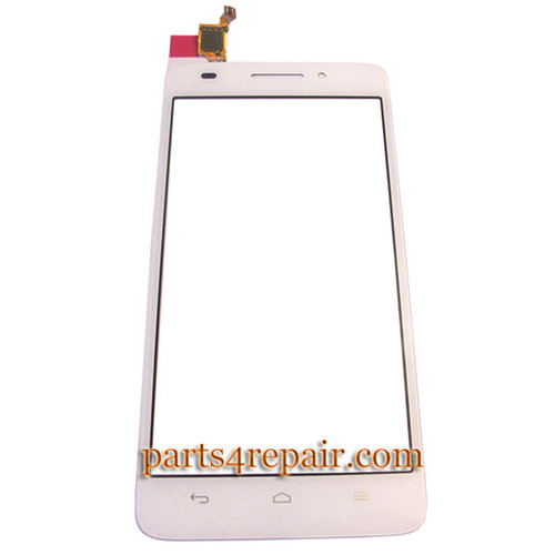 Touch Screen Digitizer for Huawei Ascend G620s -White from www.parts4repair.com