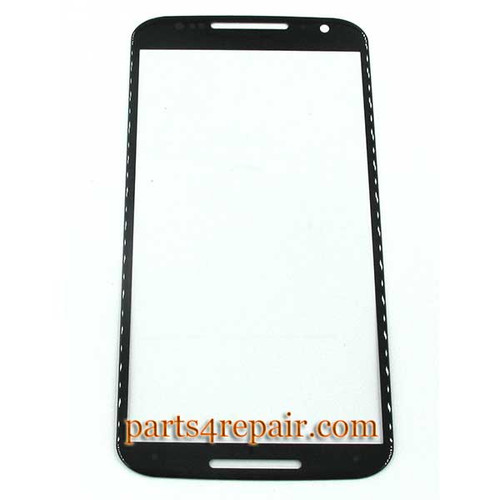 Front Glass OEM for Motorola Moto X2 XT1095 XT1096 XT1097 -Black