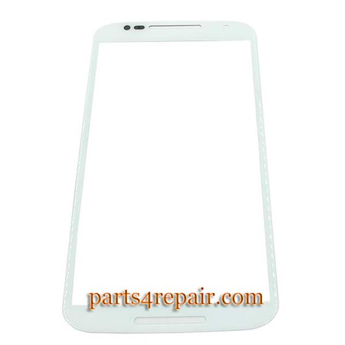 Front Glass OEM for Motorola Moto X2 XT1095 XT1096 XT1097 -White