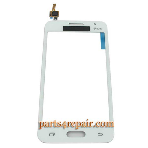 Touch Screen Digitizer for Samsung Galaxy Core 2 G355H -White