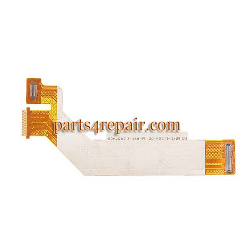 LCD Connector Flex Cable for HTC Desire 610 from www.parts4repair.com