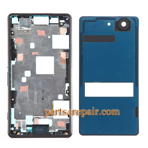 We can offer Full Housing Cover for Sony Xperia Z3 Compact mini -Black
