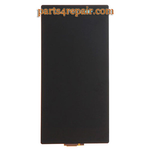 Complete Screen Assembly for Sony Xperia Z1S L39T (T-Mobile Version) -Black