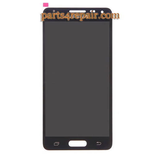 Complete Screen Assembly for Samsung Galaxy Alpha (S801) G850 -Black from www.parts4repair.com