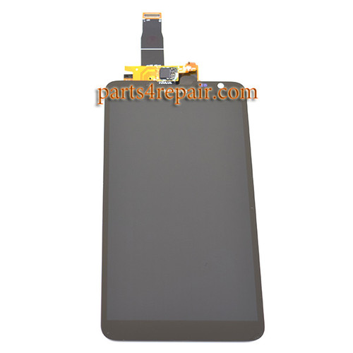 Complete Screen Assembly for Huawei Ascend Mate 2 -Black