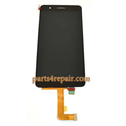 Complete Screen Assembly for Huawei Honor 6 Plus -Black from www.parts4repair.com