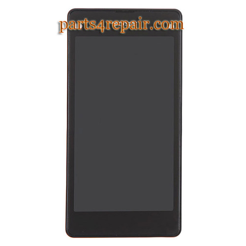 Complete Screen Assembly with Bezel for Sony Xperia Z1 Compact (Z1 mini)