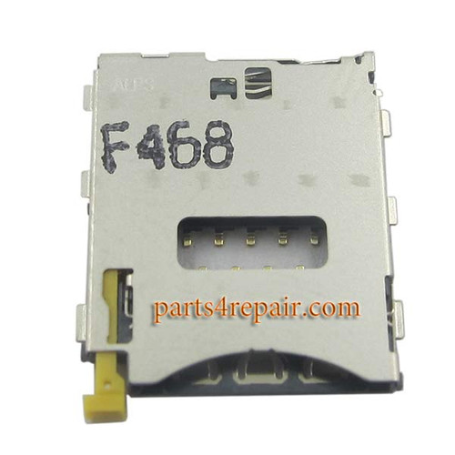 SIM Contact Connector for Sony Xperia Z3 from www.parts4repair.com