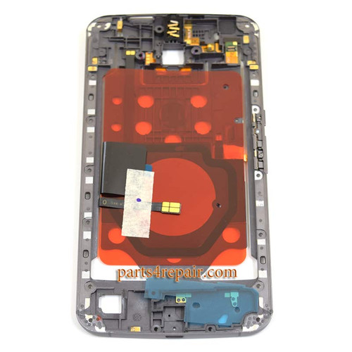 We can offer Middle Plate for Motorola Nexus 6 -Black