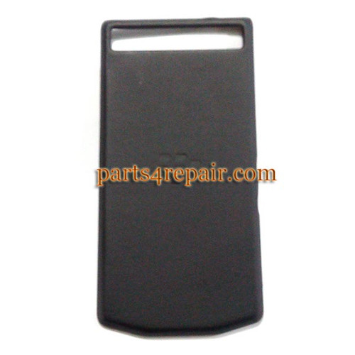 Back Cover for BlackBerry Porsche Design P'9982 -Black from www.parts4repair.com