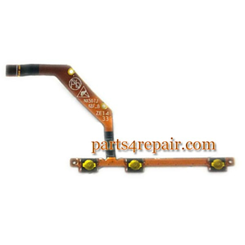 Side Key Flex Cable for ZTE Z7 mini NX507J