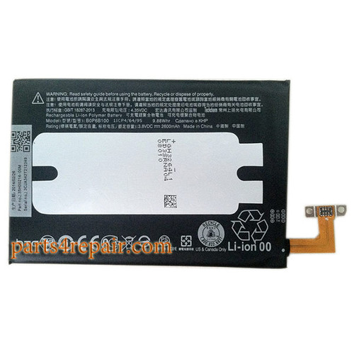 Built-in Battery for HTC One M8 from www.parts4repair.com