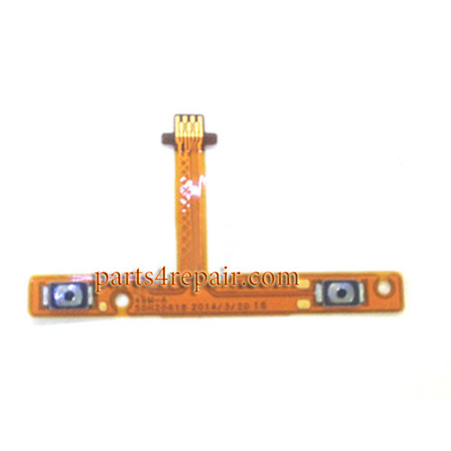 Volume Flex Cable for HTC One mini 2 from www.parts4repair.com