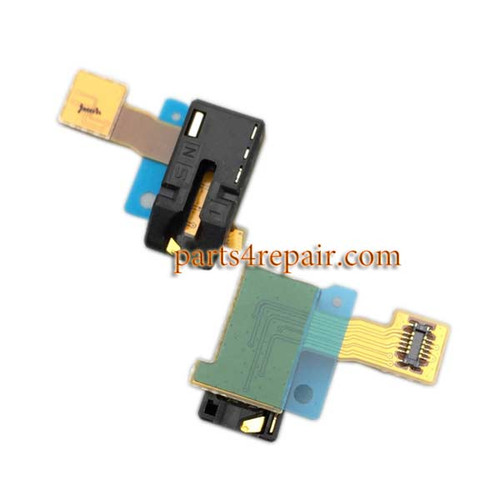 Earphone Jack Flex Cable for Sony Xperia C3 from www.parts4repair.com