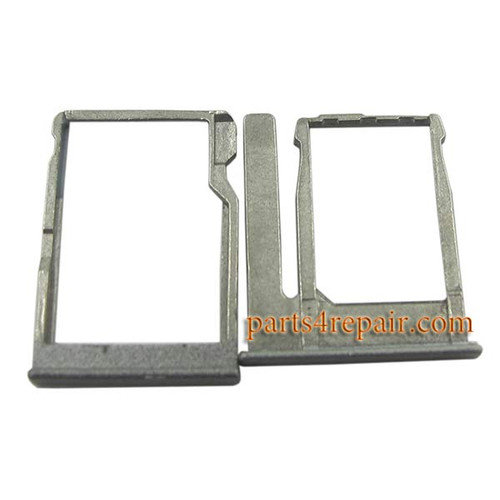 SIM Tray for HTC One miini 2 -Gray from www.parts4repair.com