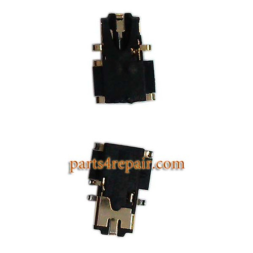 Earphone Jack Plug for Nokia Lumia 1320 from www.parts4repair.com