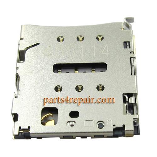 SIM Card Reader for Huawei Honor 6 Plus from www.parts4repair.com