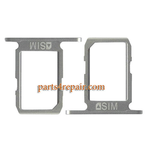 SIM Tray for Samsung Galaxy S6 All Versions -White