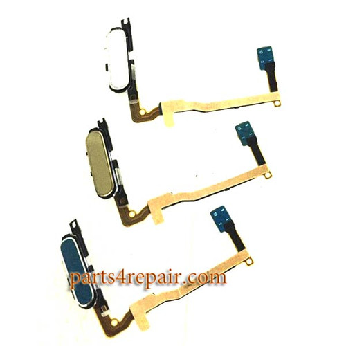 Fingerprint Sensor Flex Cable for Samsung Galaxy Alpha (S801) G850 -Blue