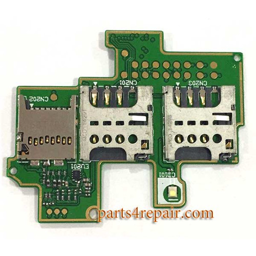 SIM Contact Board for Sony Xperia M C1904