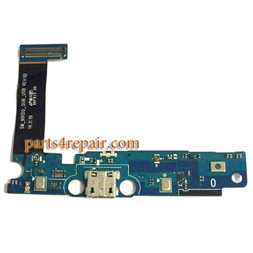Dock Charging Flex Cable for Samsung Galaxy Note Edge N9150 from www.parts4repair.com
