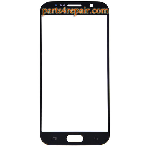 Front Glass for Samsung Galaxy S6 All Versions -Black Sapphire