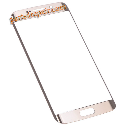 Front Glass for Samsung Galaxy S6 Edge G925 All Versions -Gold