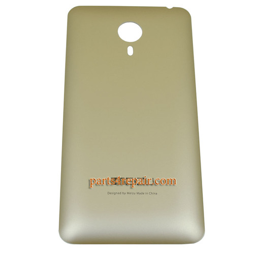 Back Cover for Meizu MX4 -Gold