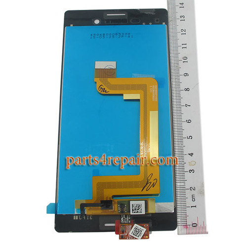 Complete Screen Assembly for Sony Xperia M4 Aqua -Black