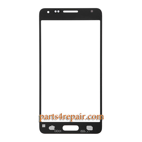 Front Glass for Samsung Galaxy Alpha S801 -Black