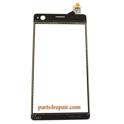 Touch Screen Digitizer with Tools for Sony Xperia C4 E5303 -Black