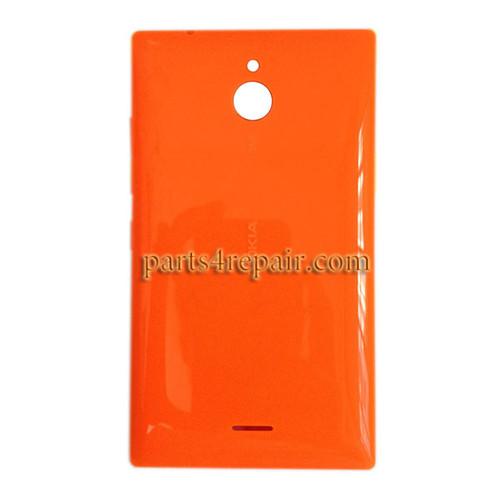 Back Cover with Side Keys for Nokia X2 Dual SIM -Orange