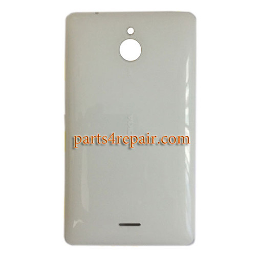 Back Cover with Side Keys for Nokia X2 Dual SIM -White