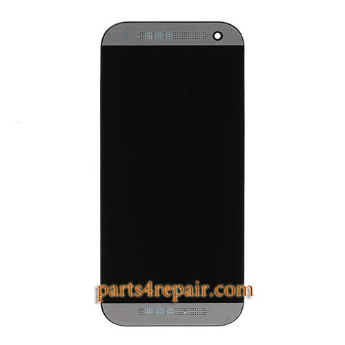 Complete Screen Assembly with Bezel for HTC One mini 2 from www.parts4repair.com
