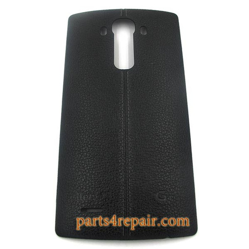 Back Cover with NFC for LG G4 -Leather Black