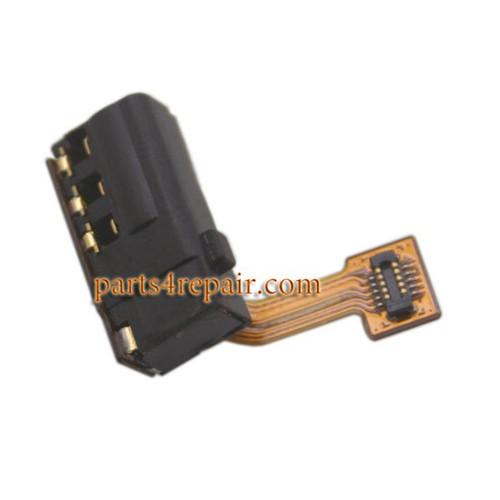 Earphone Jack Flex Cable for Huawei Honor 6 Plus