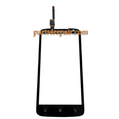 Touch Screen Digitizer for Lenovo S820 -Black
