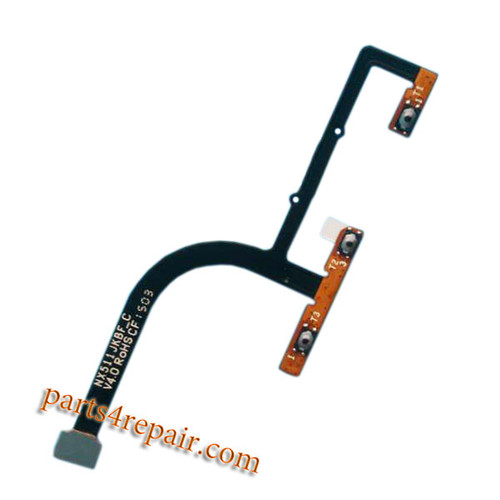 Volume Flex Cable for ZTE Z9 mini NX511J from www.parts4repair.com