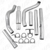 MBRP Turbo Back Aluminized Exhaust System, Single Side WITH Muffler Ford 7.3L 1999-2003 Powerstroke