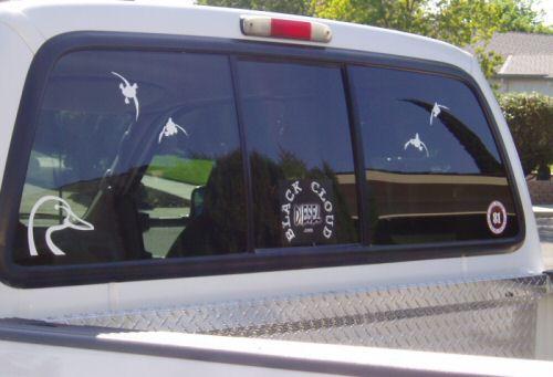 Cloud Diesel Logo Sticker Truck Window Stickers Free Shipping - Window stickers for trucks